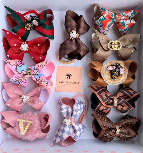 Gift Box B - 12 Hairbows