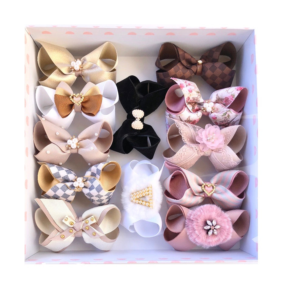 Gift Box A - 12 Hairbows