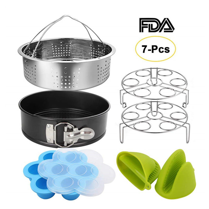 304 stainless steel steam basket set