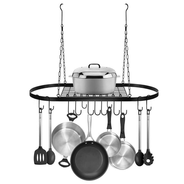 Pan Rack for Ceiling with Hooks