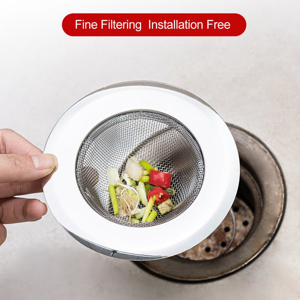 Universal Stainless Steel Sink Strainer