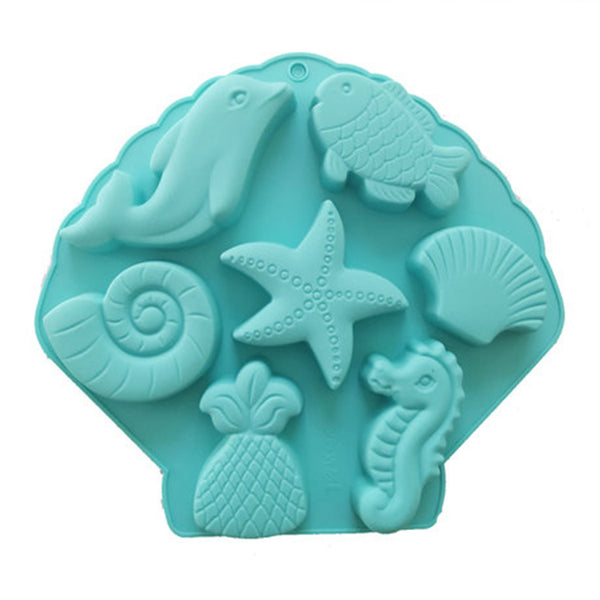 Creation sea fish cake model