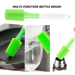 Long Handle Silicone Bottle Brush-