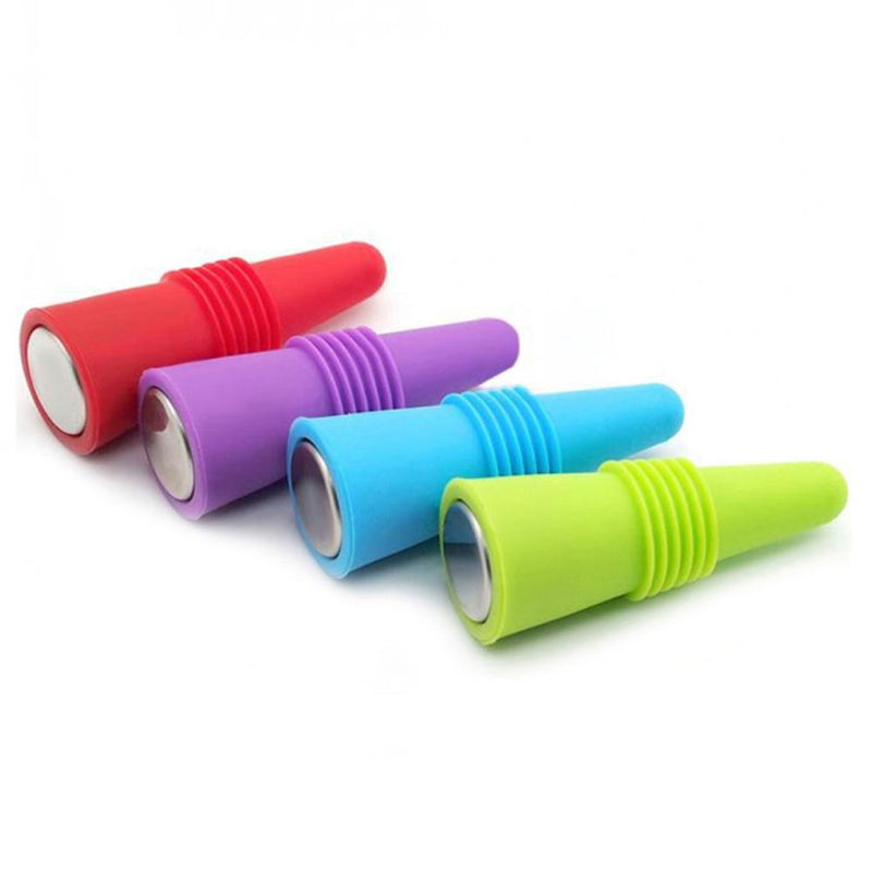 Reusable Silicone Wine Bottle Cover