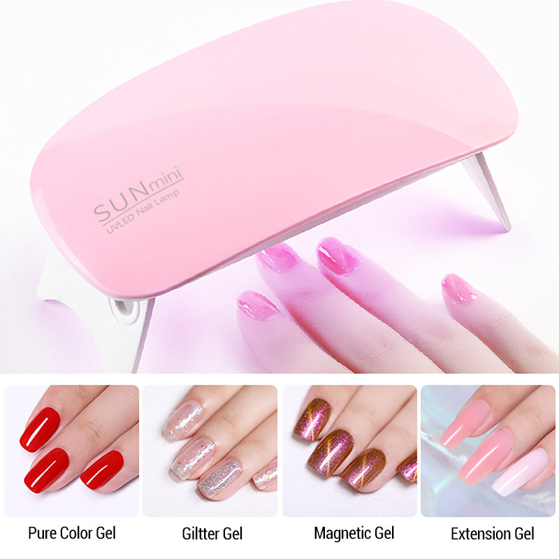 SUN Mini Nail Dryer UV Led Nail Light Tools