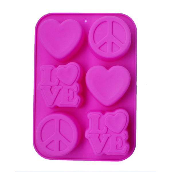 Silicone Cake baking mould handmade soap mold