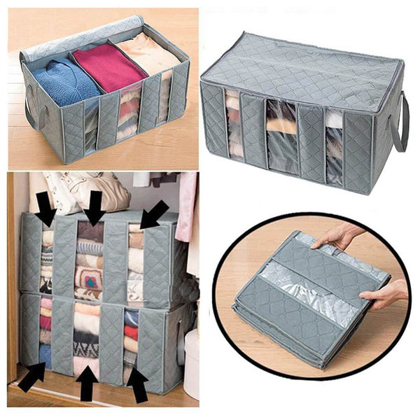Foldable Storage Bag 3 Sections