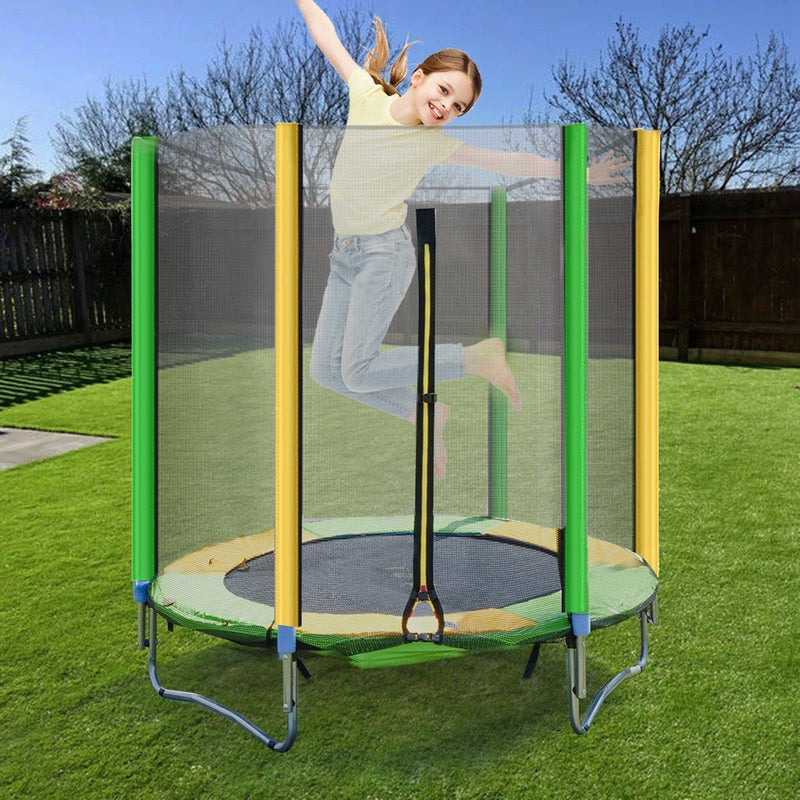 Trampoline for Kids (With Enclosure Net)
