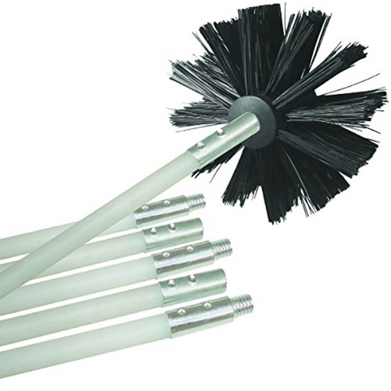 Dryer Duct Lint Remover Cleaning Brush Kits
