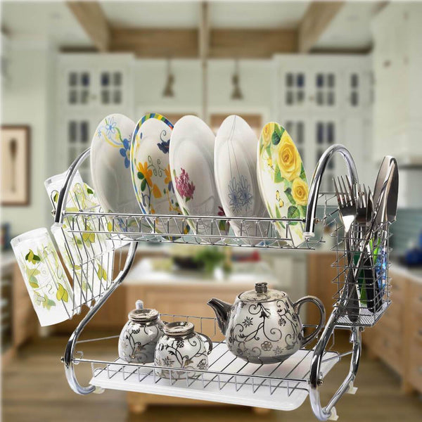 Dish Drying Rack for Kitchen Counter Top