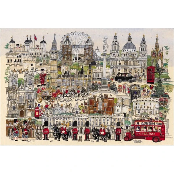 Hand Painted Sights 1000 Piece Puzzles