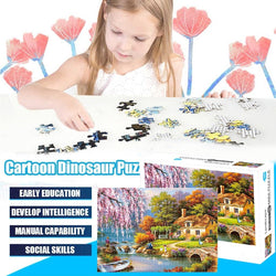 1000 Piece Large Puzzle Game