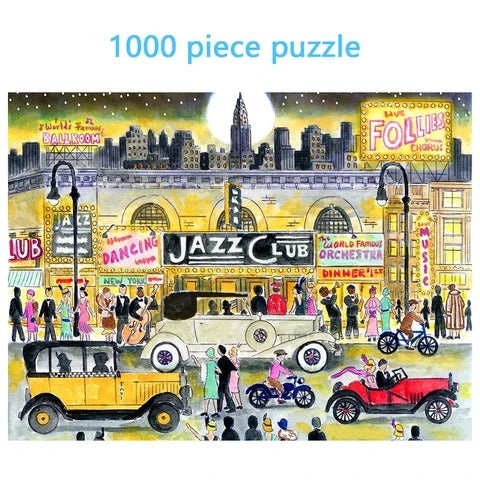 JAZZ Club 1000 Piece Puzzle