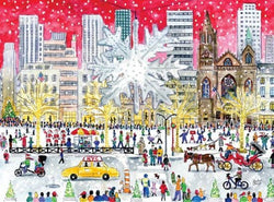 Snow City 1000 Piece Puzzle (Wooden)