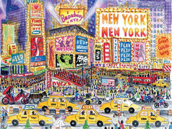 New York New York 1000 Piece Puzzle (Wooden)