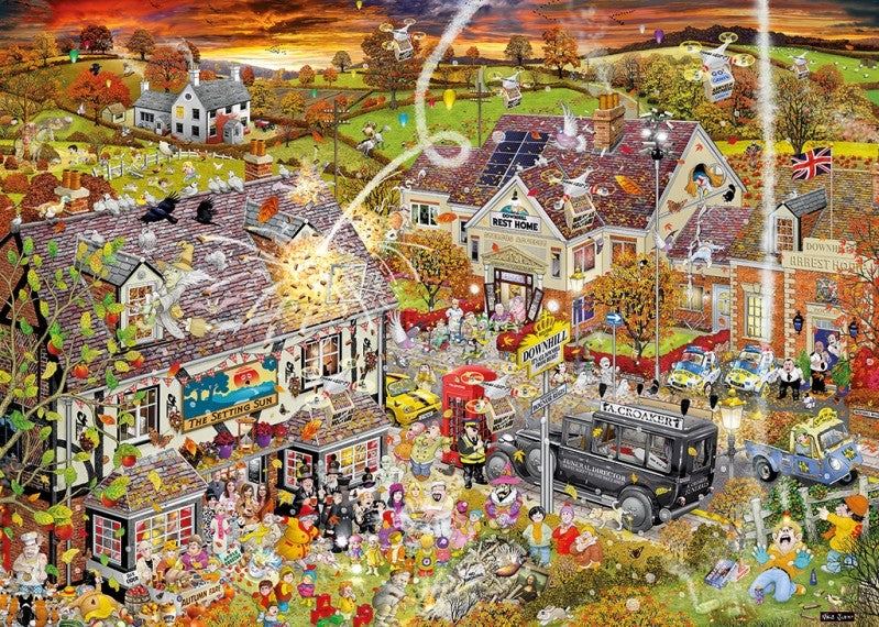 The fall of villain 1000 Piece Puzzle