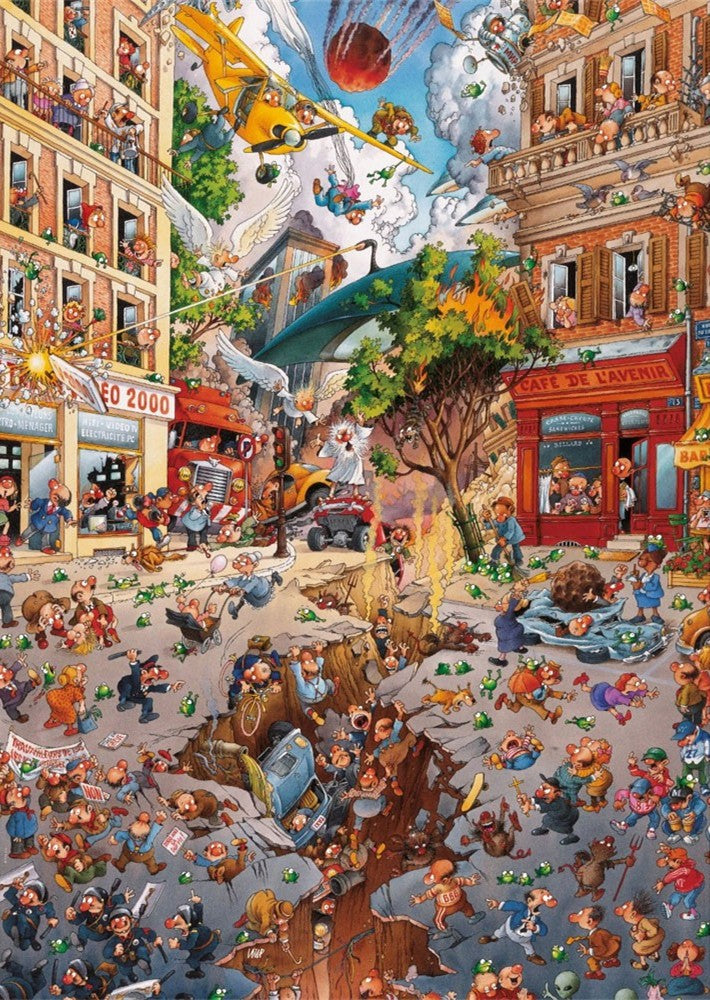 End of the world 1000 Piece Puzzle (Wooden)