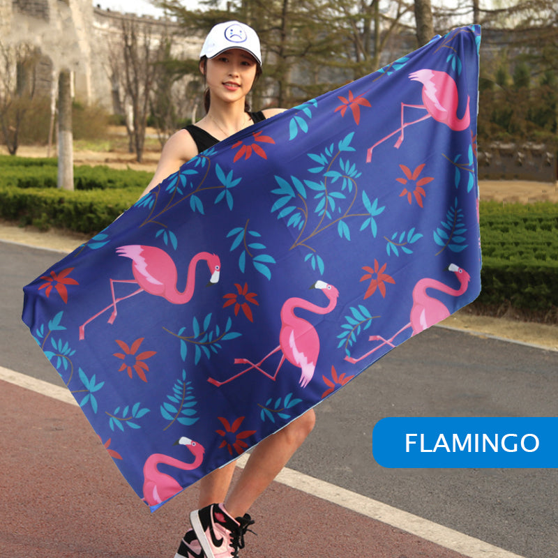 Magic Rapid Cooling Bath Towel⚕️⚕️⚕️