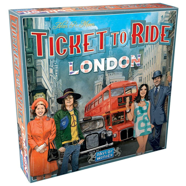 Ticket To Ride: London - Fun Workshop