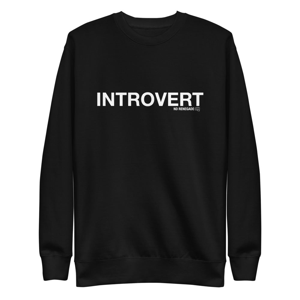 Introvert Sweatshirt