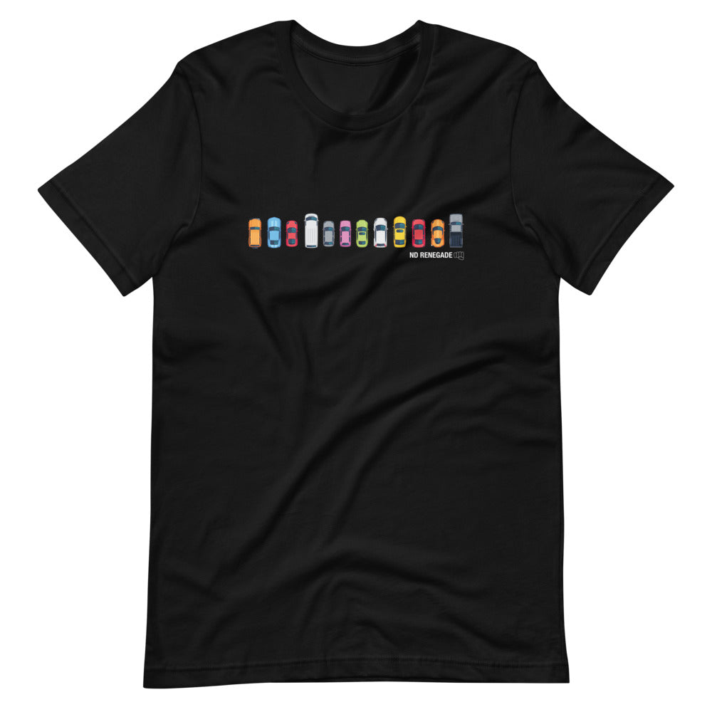 Lining Up Cars T-Shirt
