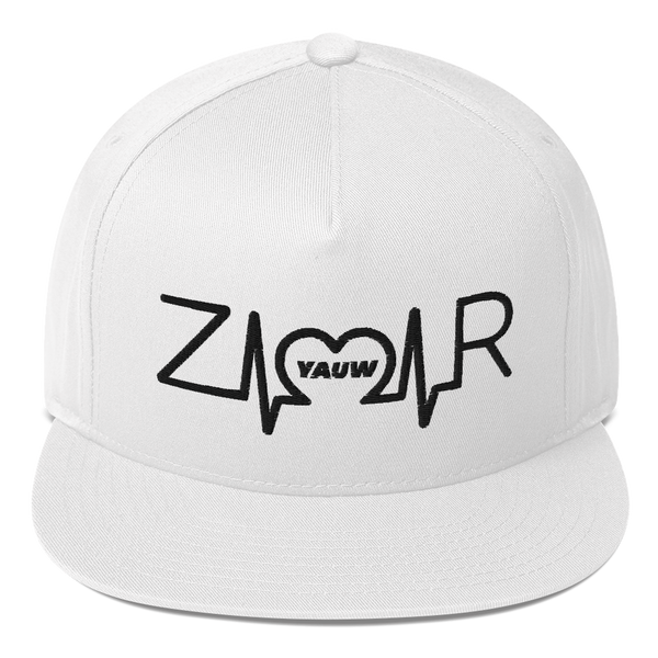 Zamar Logo (Black) Flat Bill Cap