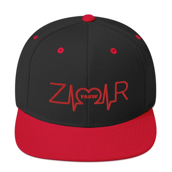 Zamar Logo (Red) Snapback Hat