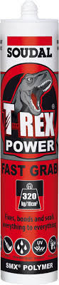 TREX POWER FAST GRAB 290ML BRIGHT WHITE 121968