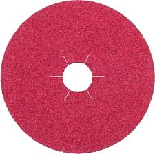 125X22MM 80 GRIT FIBRE DISC RED 330490