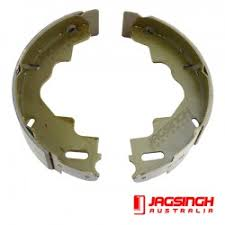 "MECH BRAKE SHOES 9"" PER PAIR BSMC"