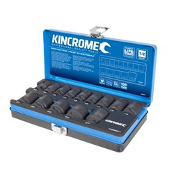 "IMPACT SOCKET SET 14 PIECE 1/2"" DRIVE - METRIC K28201"