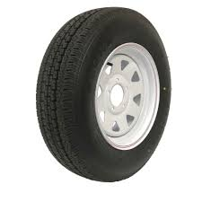FORD WHITE WHEEL AND TYRE SA14FW185