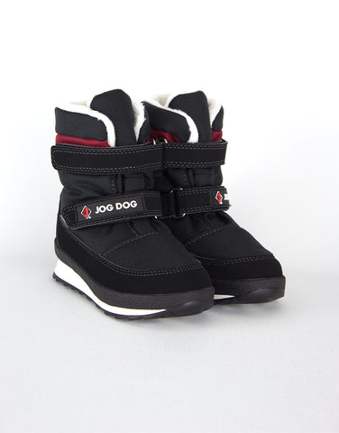 Boys Black Winter Waterproof Boots