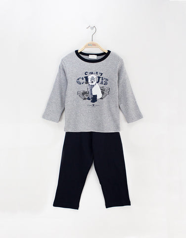 Boys pyjamas with dog print