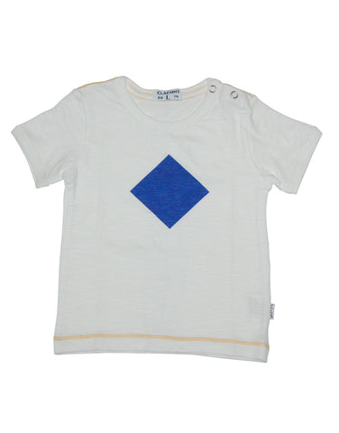Kids white cotton t-shirt - Claesens