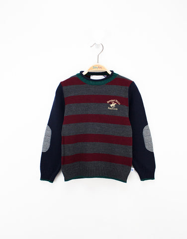 Boys Lana Wool Grey Jumper