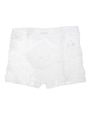 Baby girls white lace knickers  - LA Perla