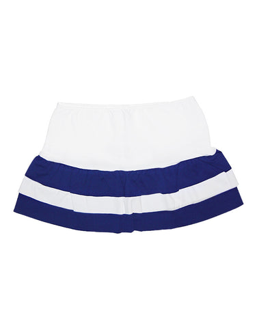 Girls cotton blue and white skirt - La Perla
