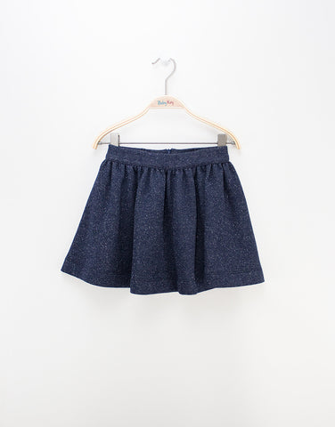 Girls Navy Skirt