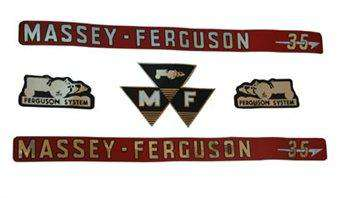 Massey Ferguson 35 Decal Kit - 3406970M91
