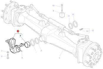 Massey Ferguson Bearing Carrier - 3810629P92