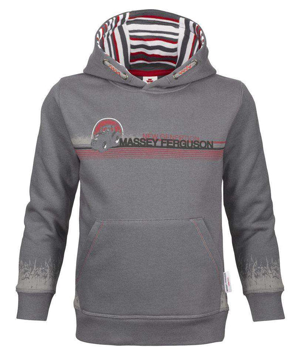 Massey Ferguson Kids Hooded Jumper