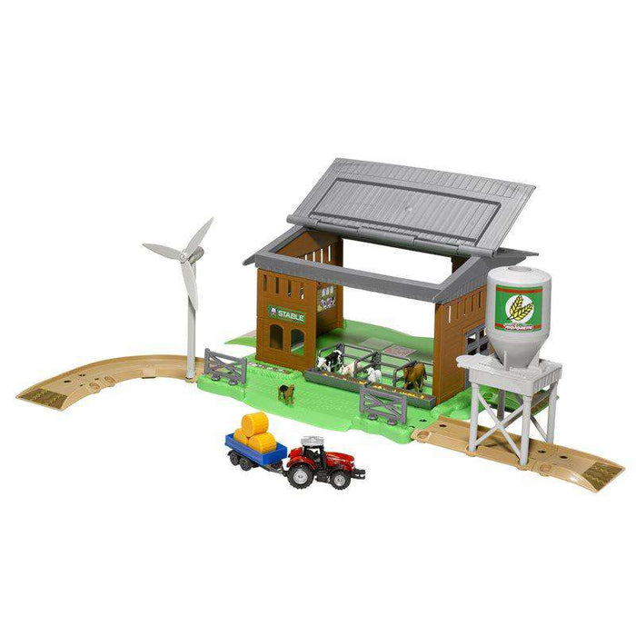 Massey Ferguson Kids Creatix Stable Playset