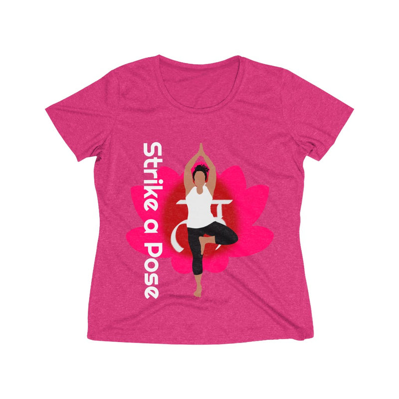 Strike a Pose - Vrksasana Tree Pose | Heather Wicking Tee