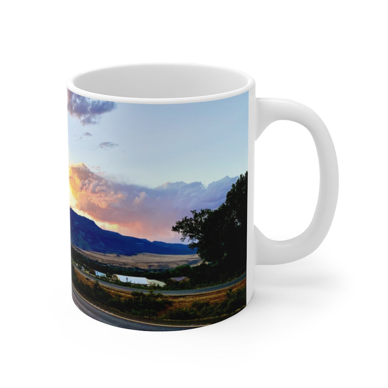 Highway Miles Ceramic Mug