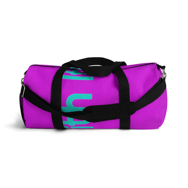 Run With It - Kristin | Pilates Purple 100% Polyester Duffel Bags | Just Abi Athletic Collection