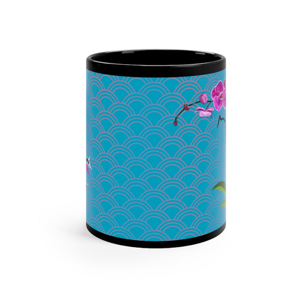Purple Orchid Koi 11oz Mug | Just Abi Housewares Collection