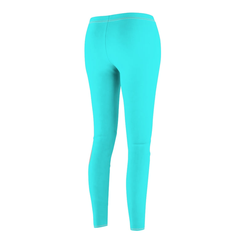 Strike A Pose Yoga Clothes | Throat Chakra Blue Yoga Pants