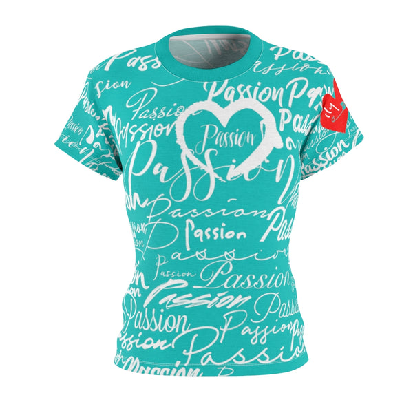 Passion Heart Tiffany Tee | Just Abi Collection