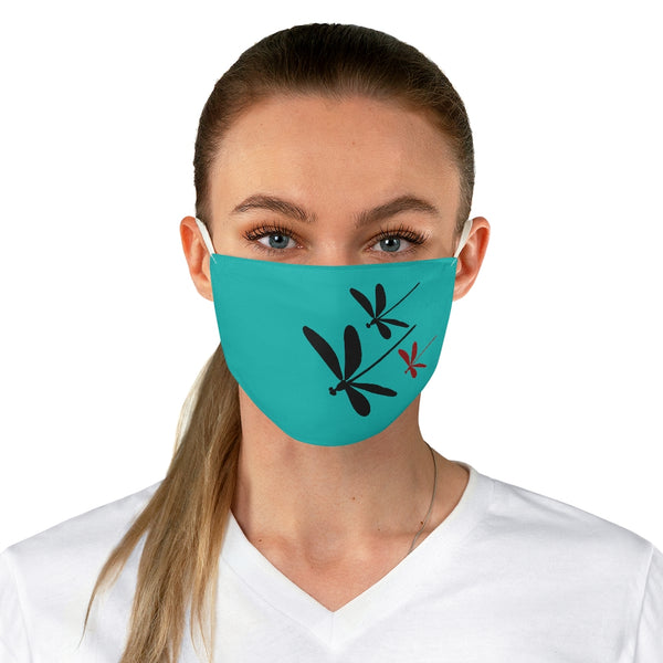 Dragonflies Fabric Face Mask Tiffany